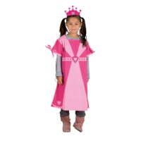 Dress up clothes - princess (incl. crown)