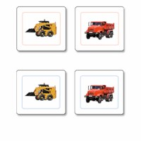 Construction Equipment Matching Cards